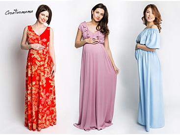 ce0809219697 Выбор платья - как беременной подготовиться к летнему сезону