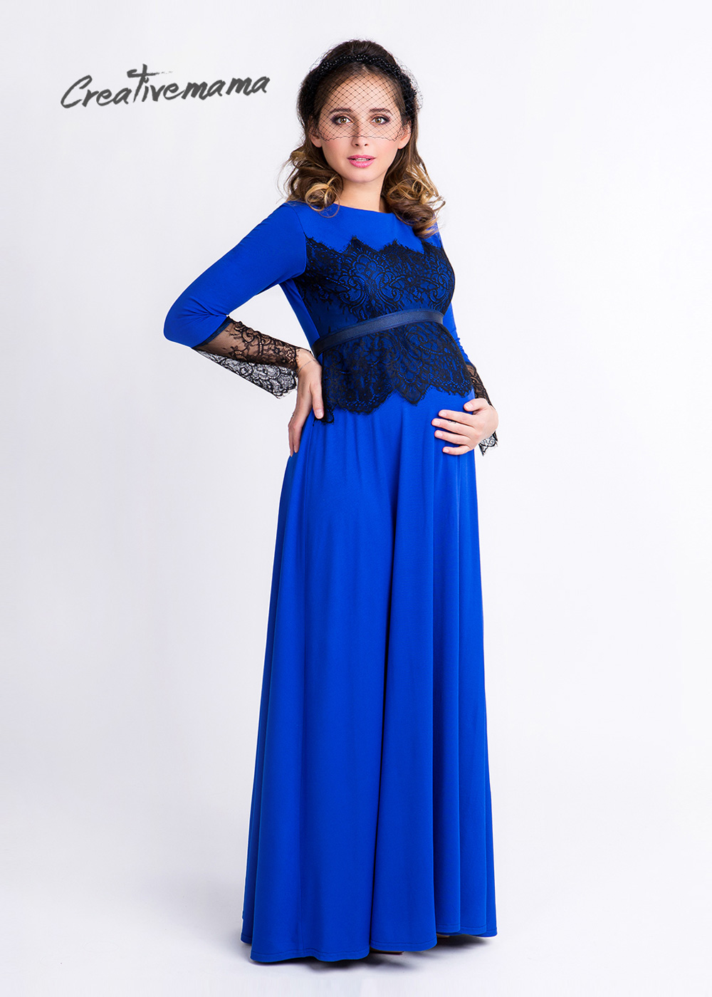 Фото: Нарядное платье для беременных Monic