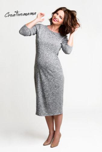 Фото: Модное платье для беременной женщины Emotion