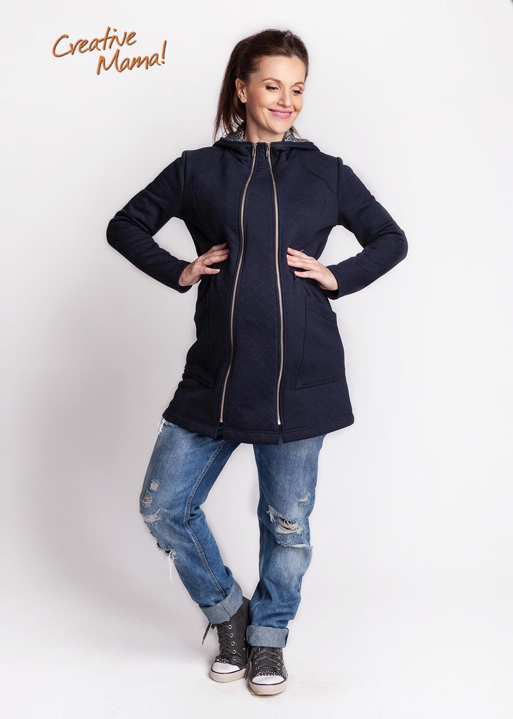 Фото: Жакет для будущих мам azzurro (теплый) - 2
