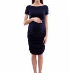 Фото: Платье из хлопка для беременных и кормящих грудью мам Tamaris