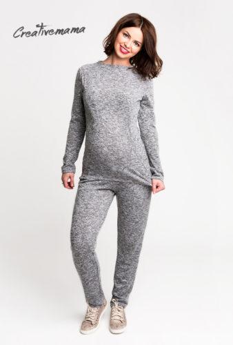 """Фото: Вязаный костюм """"Comfort-Superior"""" для беременных"""