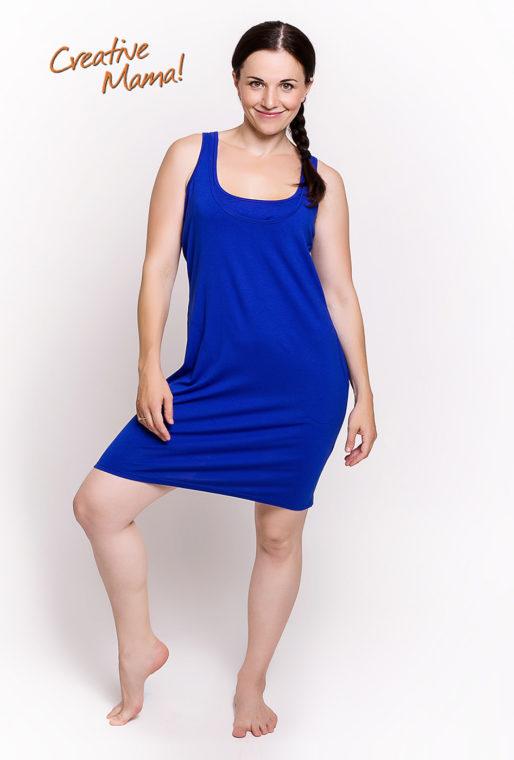 Фото: Майка платье Sapfir для будущих мам