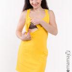 Фото: Майка-платье Yellow для будущих и кормящих мам