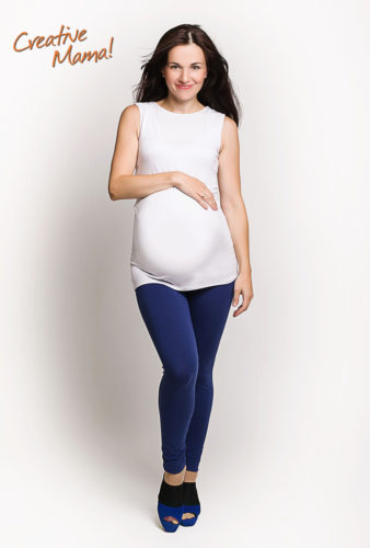Фото: лосины Move и Майка Inspiration для беременных
