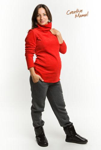 Фото: Теплые штаны premium для беременных - 2
