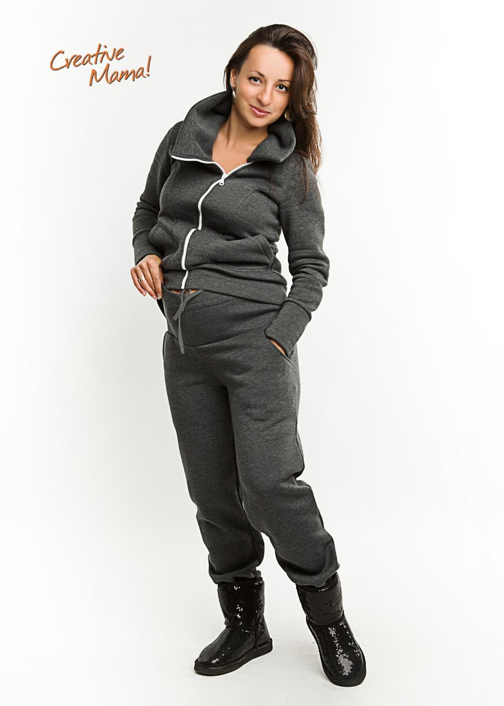 Фото: Теплые штаны premium для беременных - 3