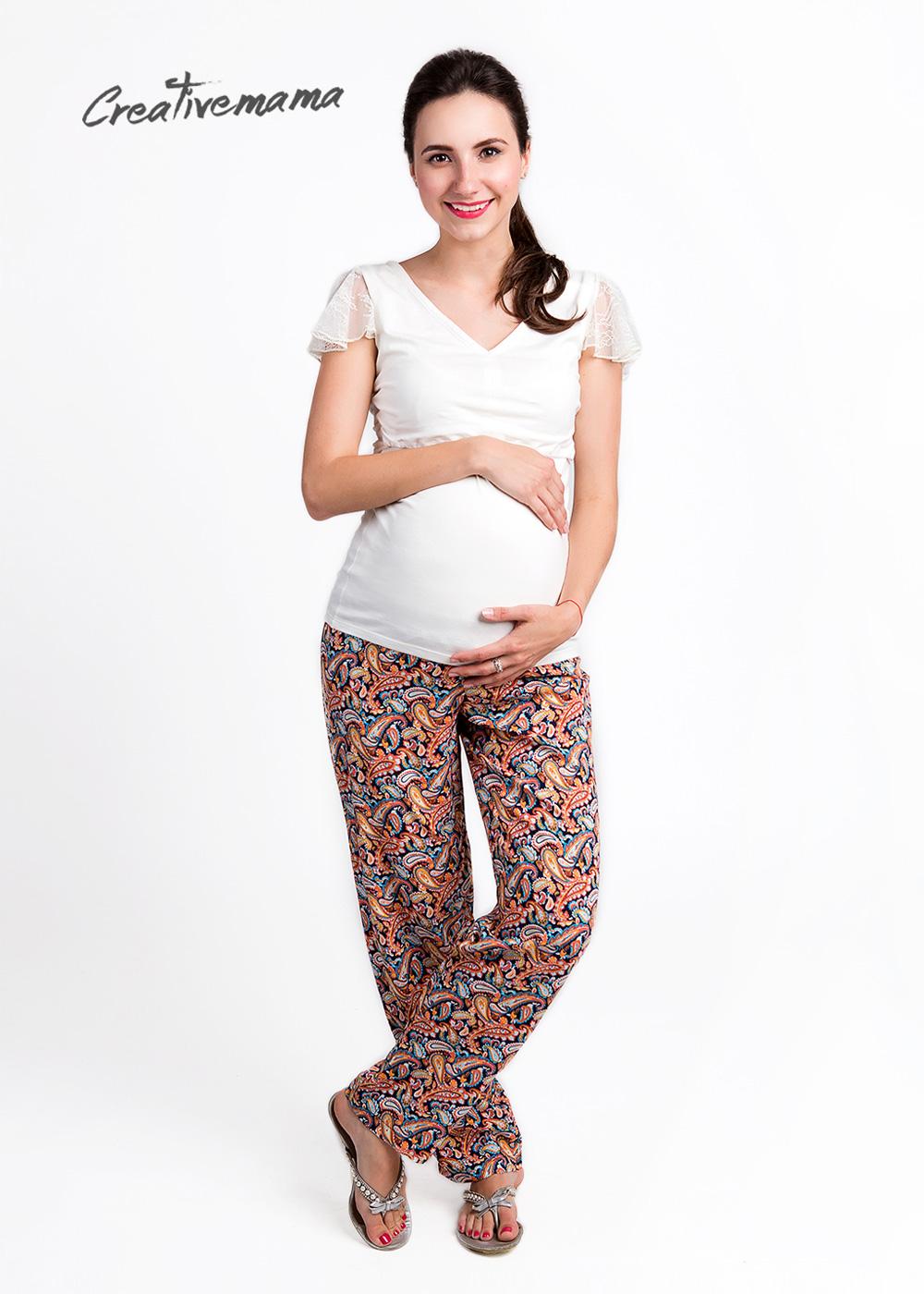 Фото: Штаны летние для беременных ethnika