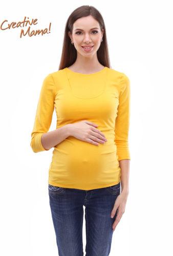Фото: Лонгслив inspiration-new для беременных женщин