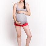 Фото: Удобная майка ok (меланж) для беременных