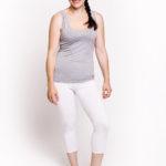 Фото: Удобная майка ok (меланж) для беременных - 2