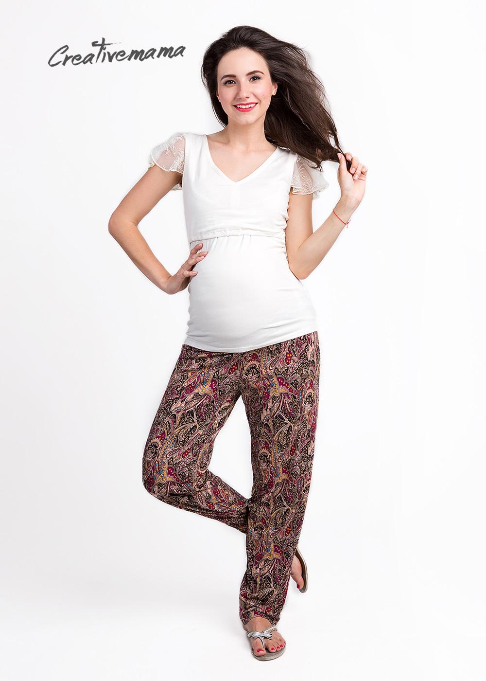 Фото: Штаны летние mirra (для беременных и кормящих)