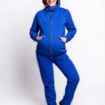 Фото: синий спортивный Костюм Uno для беременных