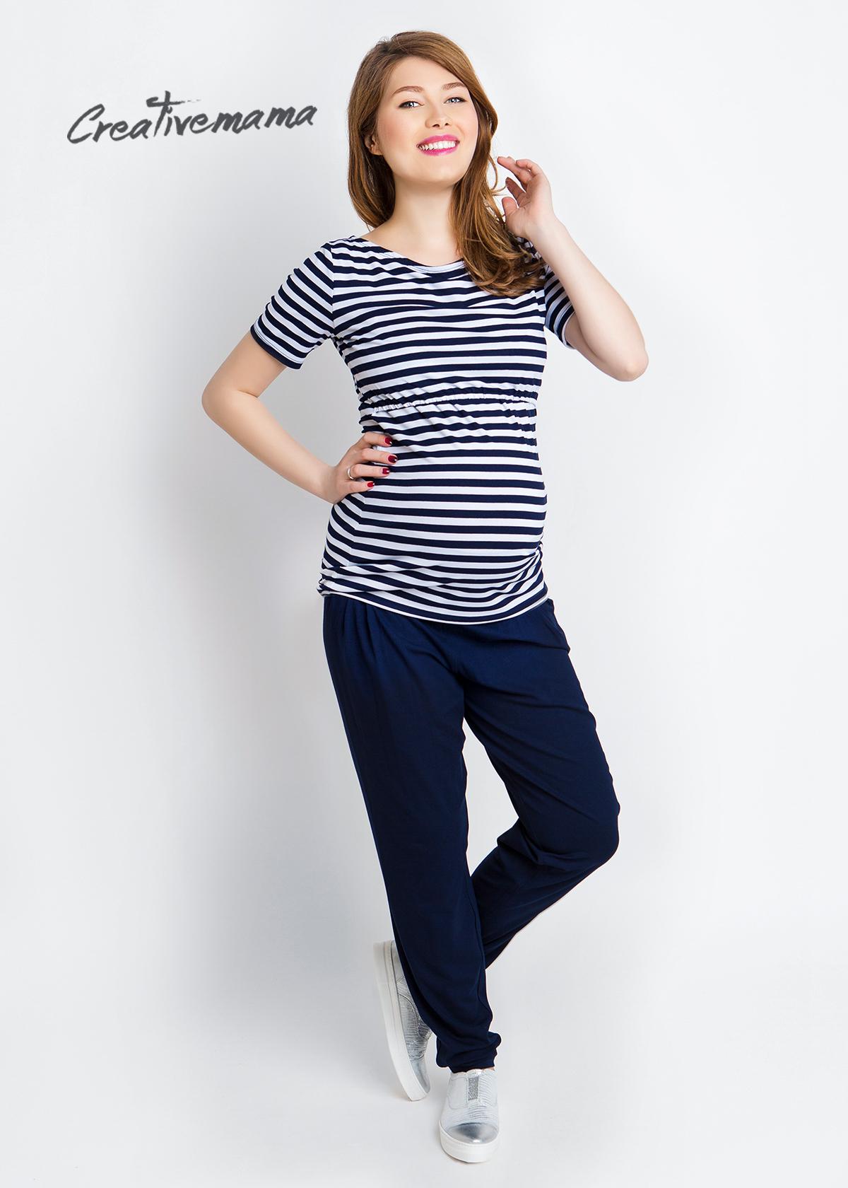 Фото: Стильные брюки для беременных Azzurro