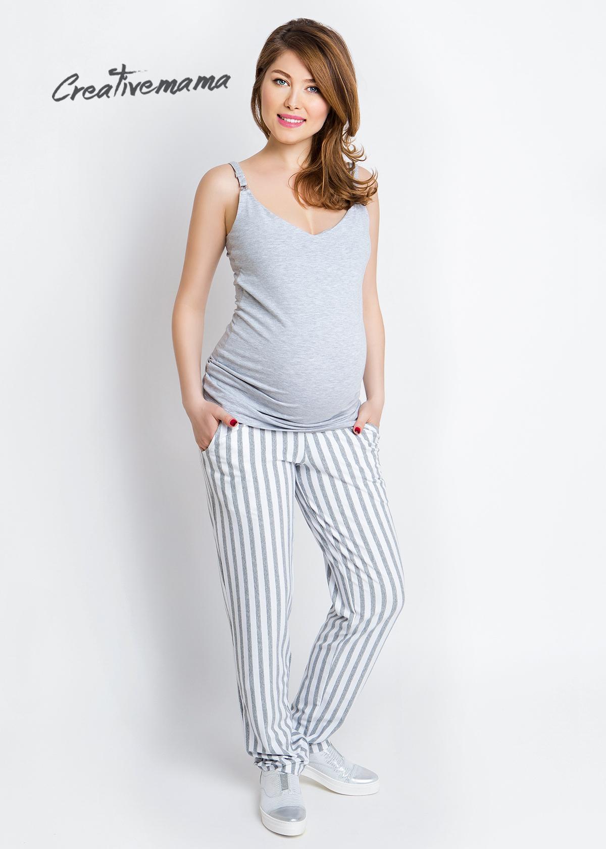Фото: Топ для беременных и кормящих Basic Grey
