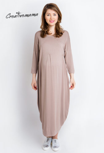 платье для беременных и кормящих мам Creativemama
