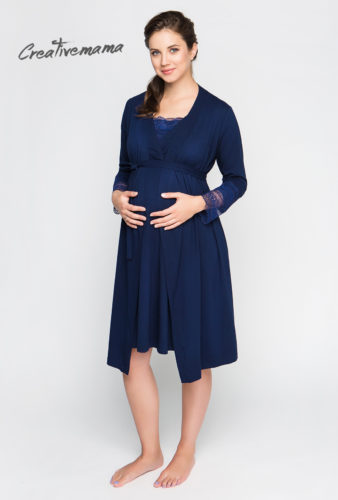 халат для беременных и кормящих мам creativemama