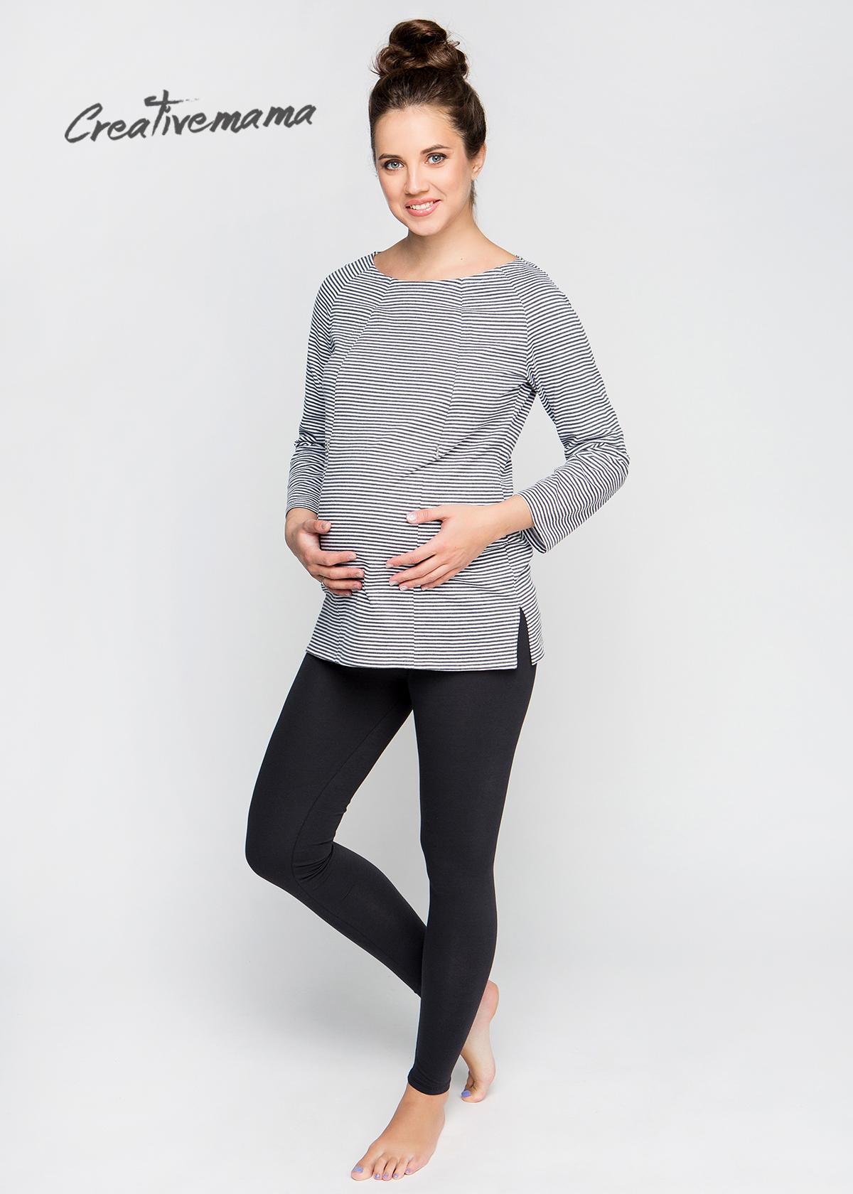 Фото: Черные леггинсы для будущих мам Grafitty (хлопок)