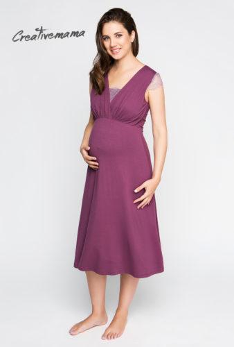 платье домашнее для беременных и кормящих мам creativemama