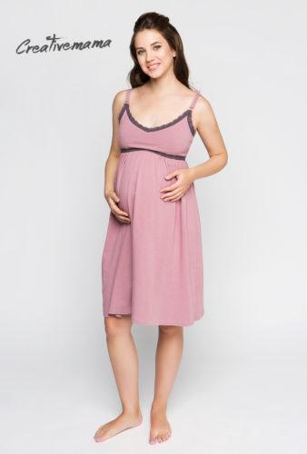 ночная сорочка для беременных и кормящих мам creativemama