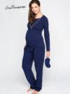 Фото: модная пижама для беременных и кормящих мам Bluemarine от CreativeMama
