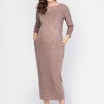 Фото: Зимнее платье для беременных и кормящих мам Cacao