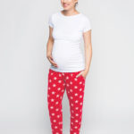 Фото: пижама для беременных - штаны и майка