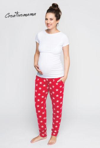пижамка для беременных и кормящих мам creativemama