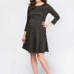 Фото: Красивое платье до колен для будущих мам Vivienne