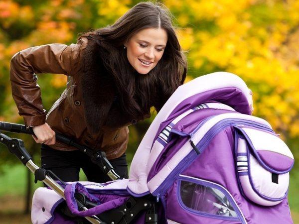 Фото: правильная прогулка с малышом