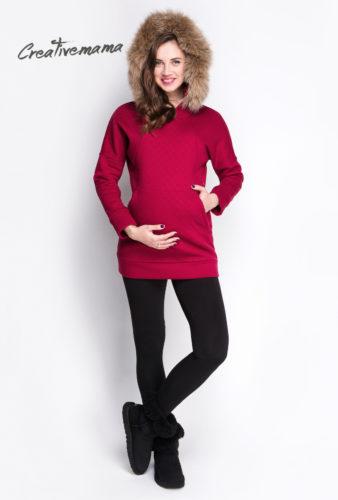 худи для беременных и кормящих мам Creativemama