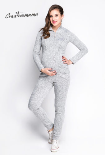 поддевка свитшот для беременных и кормящих мам creativemama