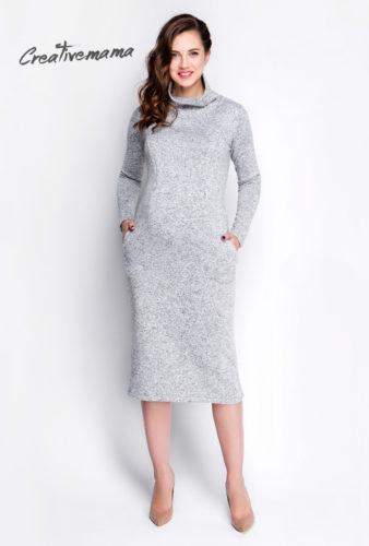 Фото: Кашемировое платье Cashemir для будущей мамы