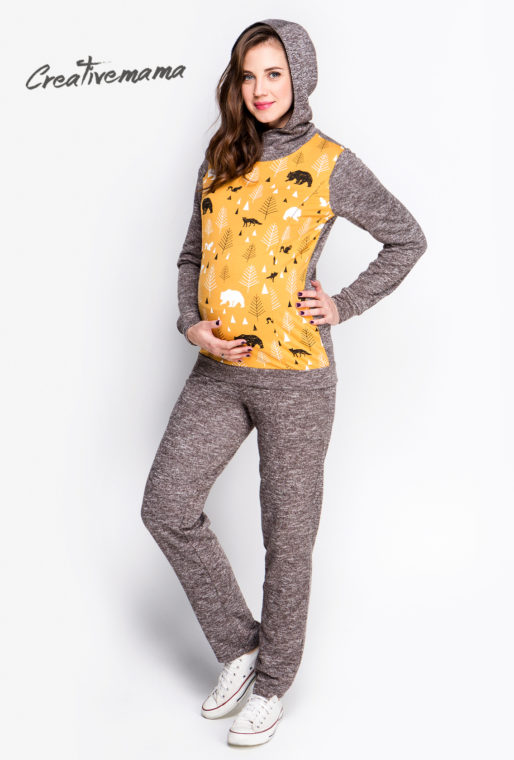 костюмчик для беременных и кормящих мам creativemama