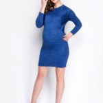 Фото: Короткое платье для будущих мамочек Victoria