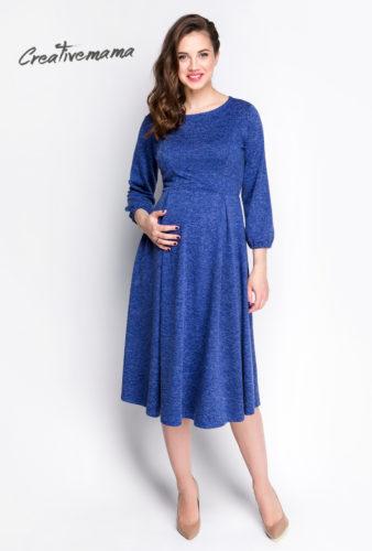 Фото: синие платье для беременных
