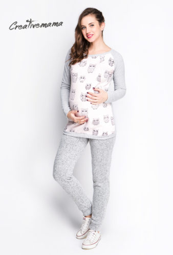 свитшот для беременных и кормящих мам Creativemama