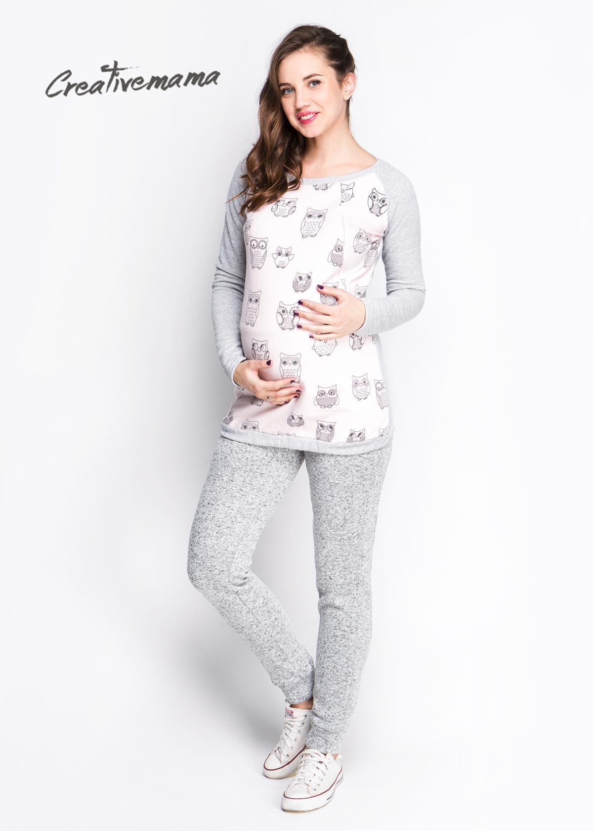 Фото: свитшот для беременных и кормящих мам Creativemama