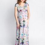 Фото: Сарафан летний в пол Blossom для будущих мам 3
