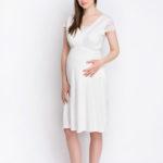 Фото: комплект в роддом халат+ ночная для беременных и кормящих BLANCO