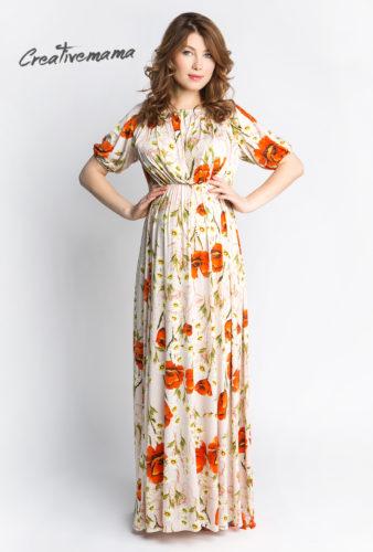 Фото: Летнее платье для беременной женщины Claudia