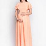 Фото: Красивое платье для беременных