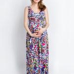 Фото: Красивый летний Сарафан в пол Muze для беременной женщины 1