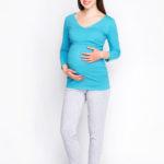 Фото: Легкие брюки для будущих мам Active (хлопок)