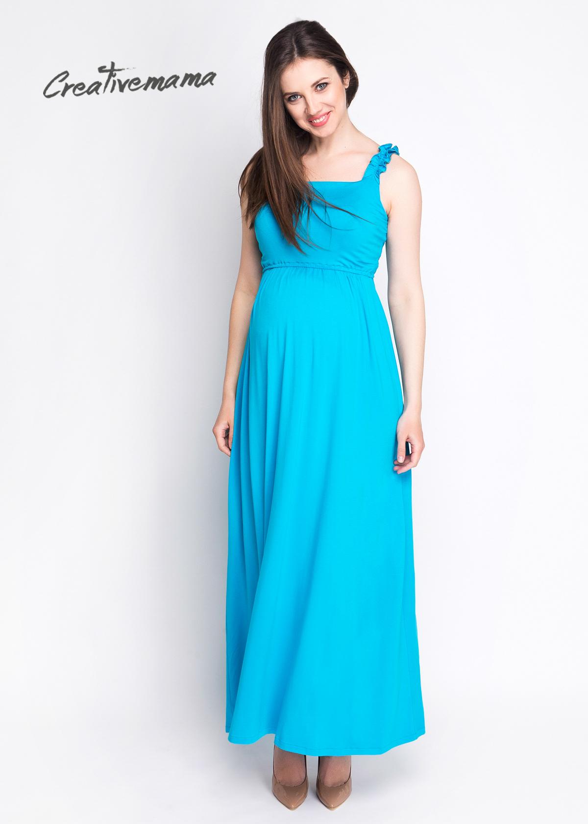 Фото: красивое платье сарафан для беременных laguna