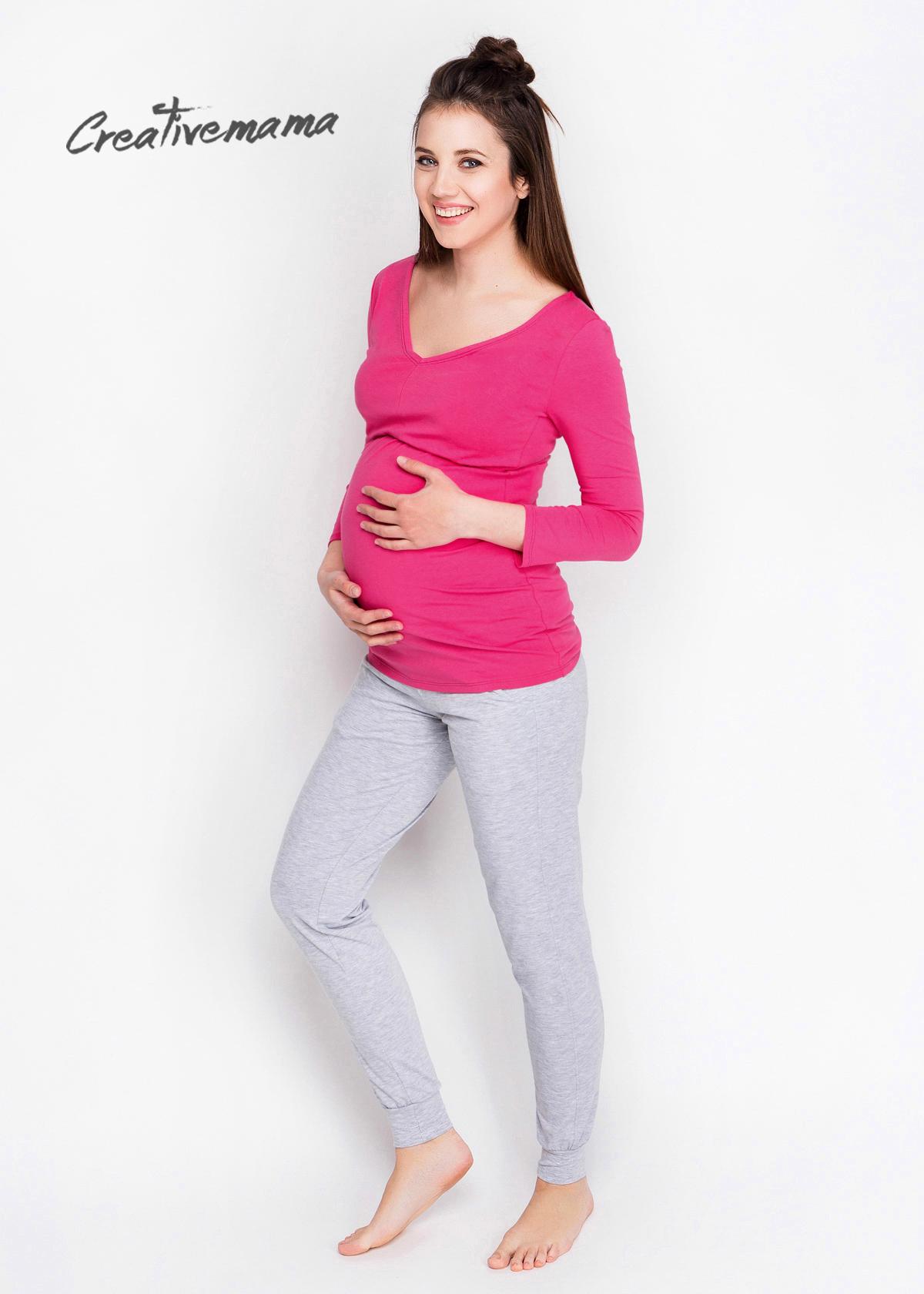 Фото: недорогая одежда для беременных, Костюм домашний Malinka (хлопок)