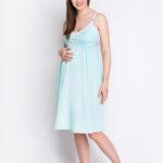Фото: одежда для будущих мам, ночная рубашка mint
