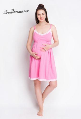 Фото: ночная рубашка pink rose