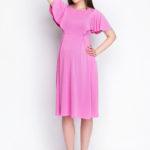 Фото: платье для беременных и кормящих мам creativemama pionia