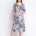 Фото: Легкое платье туника для будущих мамочек Ethnika